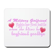 Boyfriend Goodbye Mousepad