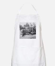 Cannon Ft Woodbury 1863 BBQ Apron