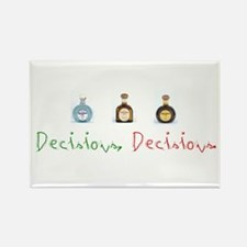 Decisions Rectangle Magnet