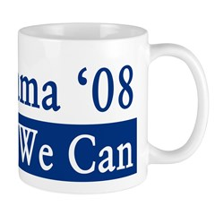 Obama '08 Yes We Can Coffee Mug