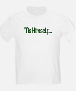 """'Tis Himself"" Kids T-Shirt"