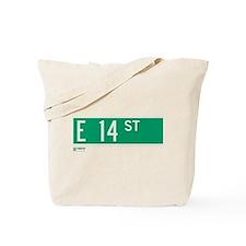 14th Street in NY Tote Bag