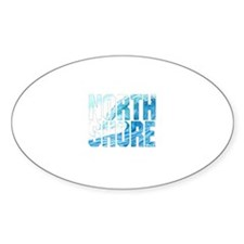 North Shore Oval Decal