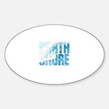 North Shore Oval Stickers
