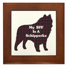 BFF Schipperke Framed Tile