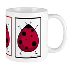 The Three Ladybugs Mug