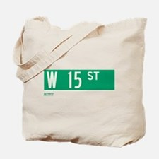 15th Street in NY Tote Bag