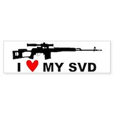I Love My SVD Bumper Bumper Sticker