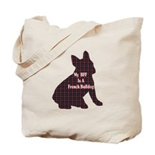 BFF French Bulldog Tote Bag