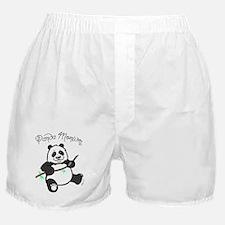 Panda Monium (pandemonium) Boxer Shorts