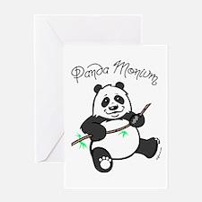 Panda Monium (pandemonium) Greeting Card