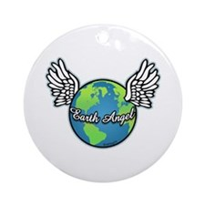 Earth Angel Ornament (Round)