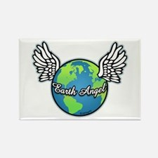 Earth Angel Rectangle Magnet