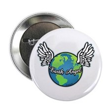 "Earth Angel 2.25"" Button"