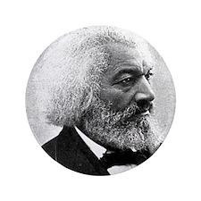 """Faces """"Douglass"""" 3.5"""" Button"""