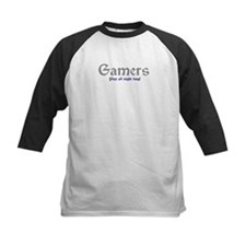 Gamers Play All Night Long Tee