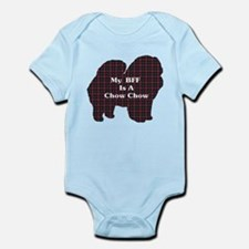 BFF Chow Chow Infant Bodysuit
