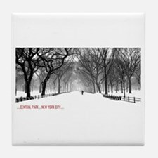 Central Park, NYC Tile Coaster