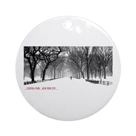 Central Park, NYC Ornament (Round)
