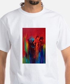 Chief blue Feather Shirt