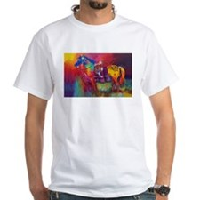 Orange Native American War Horse Shirt