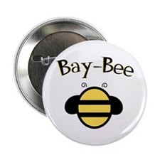 """Bay-Bee Baby Bumblebee 2.25"""" Button"""