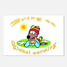 Global Warming Day Postcards (Package of 8)