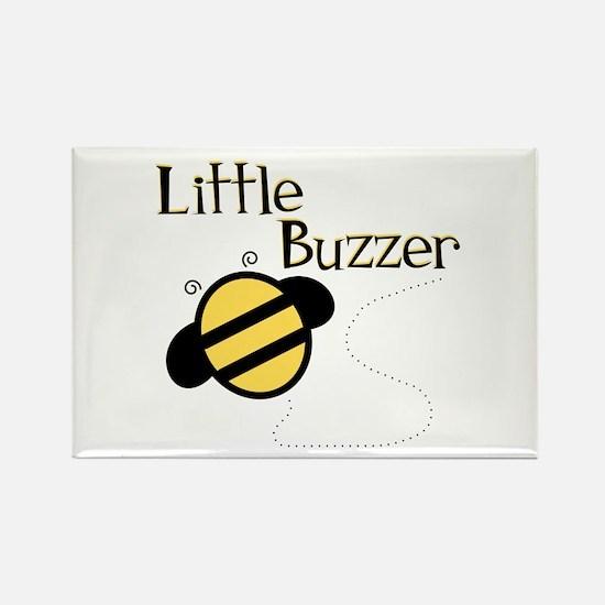 Little Buzzer Bumblebee Rectangle Magnet