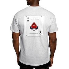 Poker - Big Slick 2 -  Ash Grey T-Shirt