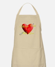 Always Cook With Love BBQ Apron