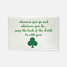 Lucky Irish Rectangle Magnet