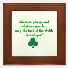 Lucky Irish Framed Tile