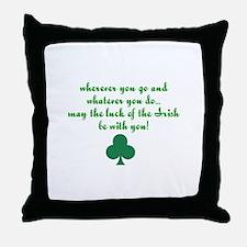 Lucky Irish Throw Pillow