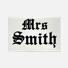Mrs Smith Rectangle Magnet
