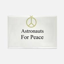 Astronauts Rectangle Magnet