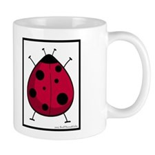 Ladybug Mug ( w/ black frame)