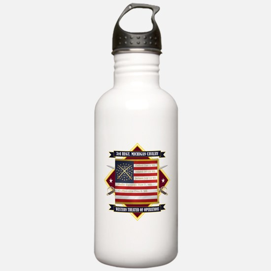 3rd Michigan Cavalry Water Bottle