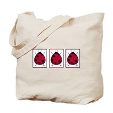The Three Ladybugs Tote Bag