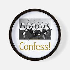 Confess! Wall Clock