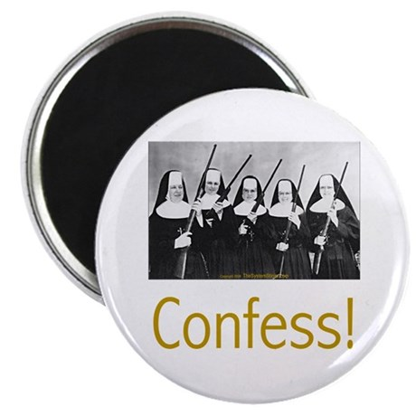 Confess! Magnet