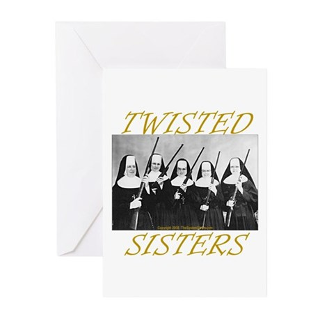Twisted Sisters Greeting Cards (Pk of 20)