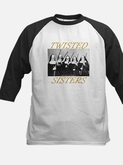 Twisted Sisters Kids Baseball Jersey