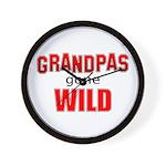 Grandpas Gone Wild Wall Clock