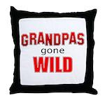Grandpas Gone Wild Throw Pillow
