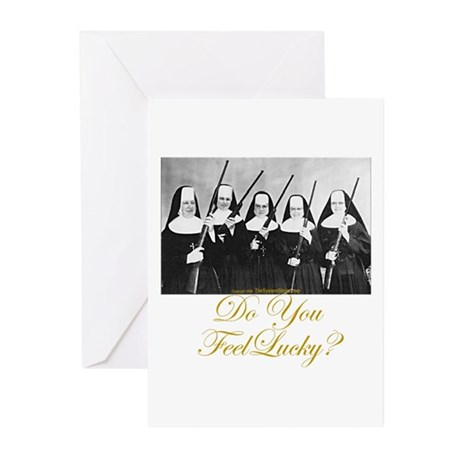 Feel Lucky? Greeting Cards (Pk of 10)