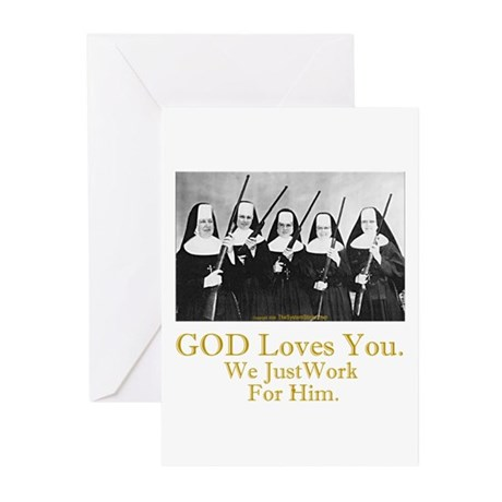 God Loves You Greeting Cards (Pk of 20)