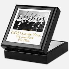 God Loves You Keepsake Box