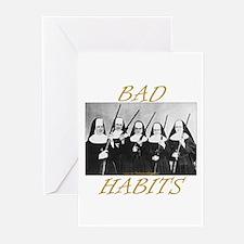 Bad Habits Greeting Cards (Pk of 20)