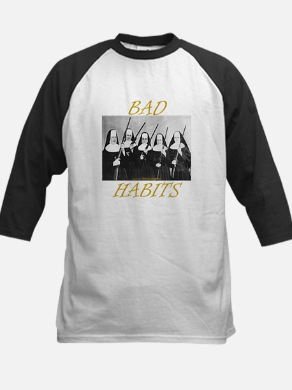 Bad Habits Kids Baseball Jersey