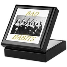 Bad Habits Keepsake Box